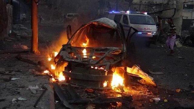 انفجار خودروی بمب گذاری شده در غرب طرابلس لیبی