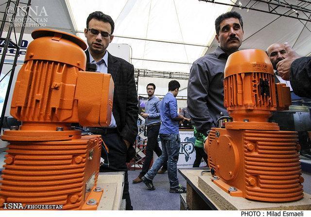 رونمایی از 11 کالای ساخت داخل در نمایشگاه نفت خوزستان