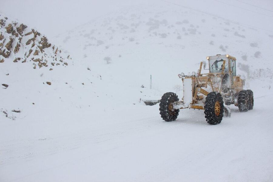 هشدار نسبت به عدم امدادرسانی جاده ای در مواقع بحران ، کاهش 50 درصدی ماشین آلات راهداری زمستانی