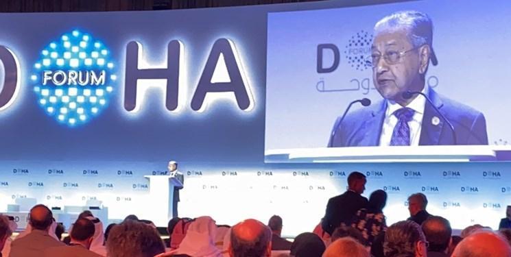 ماهاتیر محمد: از تحریم های آمریکا علیه ایران حمایت نمی کنیم