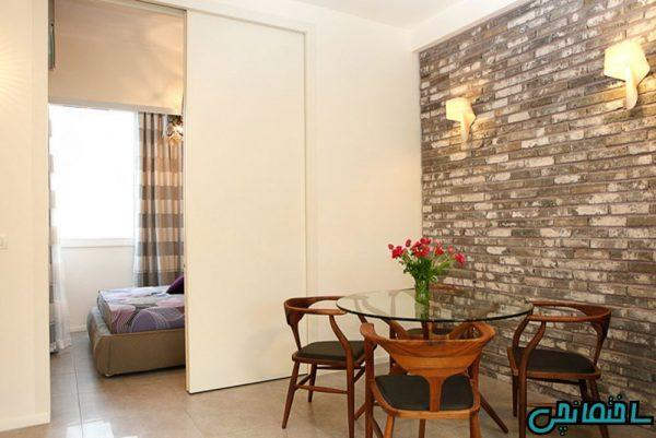تازه ترین ایده های طراحی آپارتمان کوچک