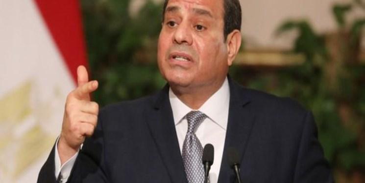 السیسی: بعضی منفعت خود را در بی ثباتی سوریه می بینند