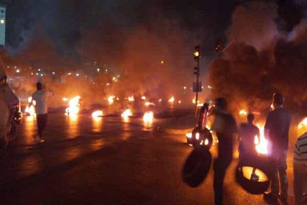 افراد ناشناس دفاتر 2 حزب را در شمال لبنان به آتش کشیدند