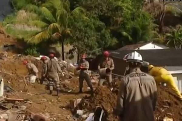 رانش زمین در شرق برزیل، 7 تن کشته شدند