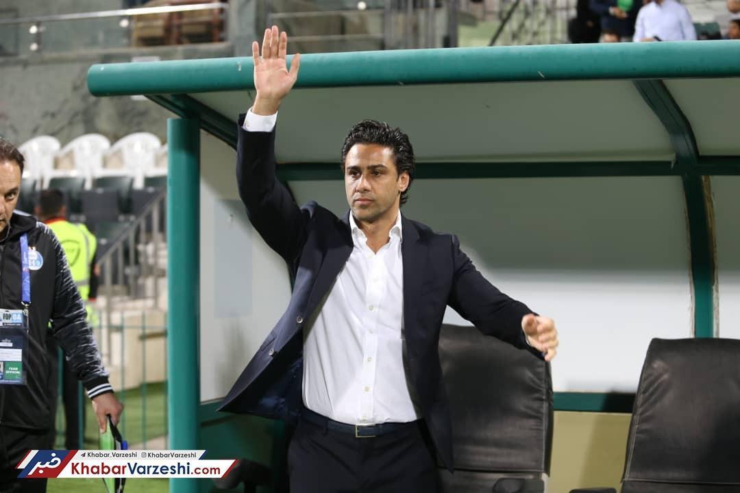 از استراماچونی ممنونم، برد مقابل الکویت مبارک هواداران استقلال باشد