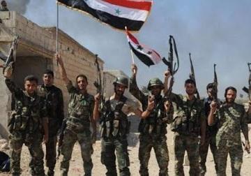 فرار تروریست ها درپی پیشروی های ارتش سوریه