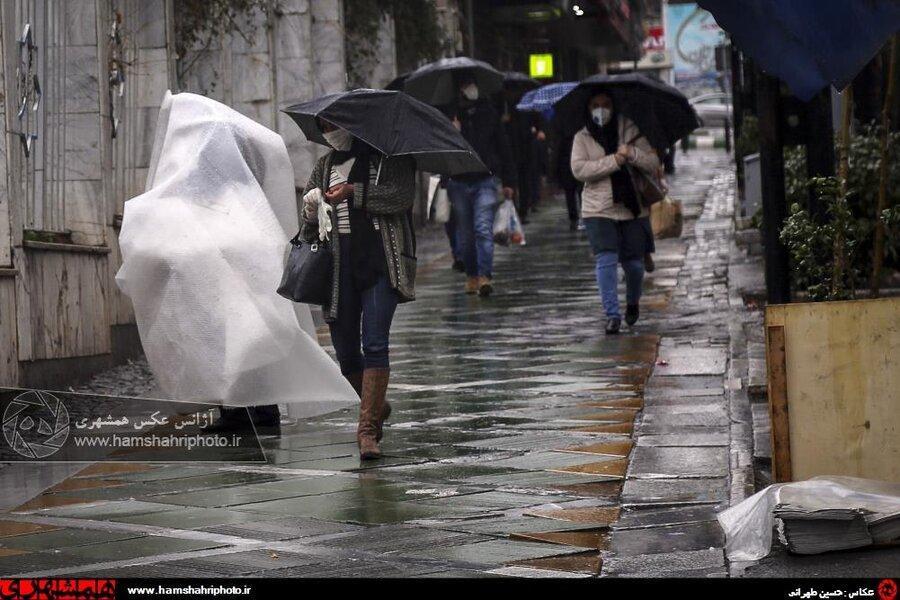 هیچ گونه آبگرفتگی در شمال تهران نداشتیم