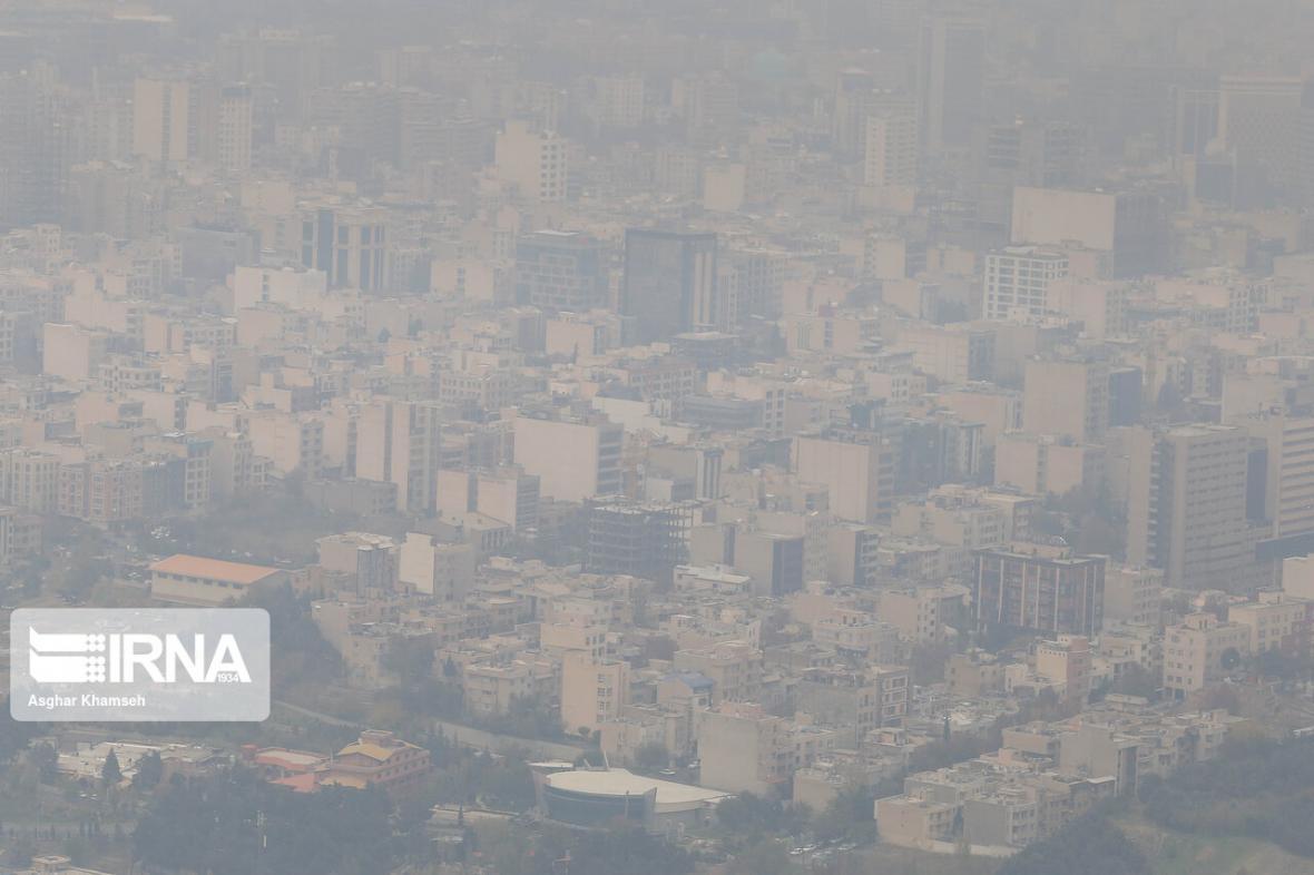خبرنگاران کیفیت هوای تهران قرمز شد