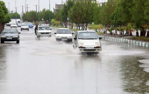 آسمان تهران فردا بارانی است