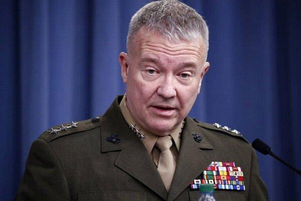 فرمانده نیروهای تروریستی آمریکا در منطقه مدعی هشدار به ایران شد
