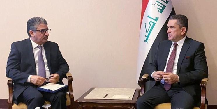 سفیر کویت در بغداد به دیدار الزرفی رفت
