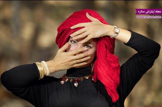 عکس متفاوت از الناز حبیبی - بهار در سریال درد سر های بزرگ