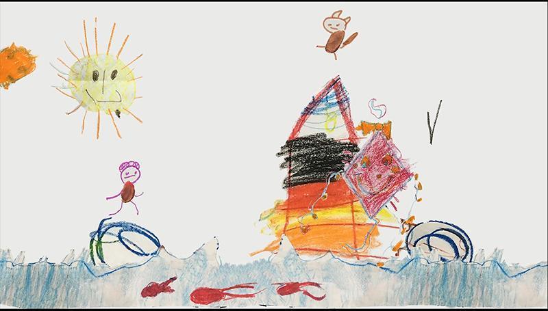 یک کار خلاقانه و زیبا: وقتی نقاشی های بچه ها جان می گیرد و به انیمیشن تبدیل می گردد