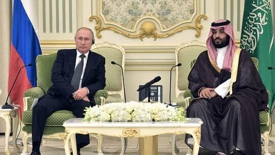 گفتگوی تلفنی پوتین و بن سلمان