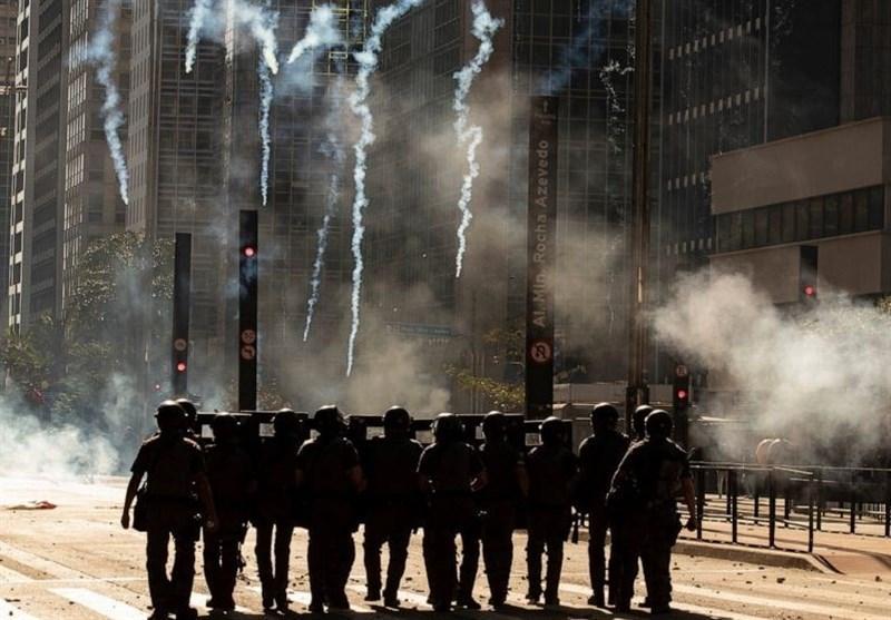 تشدید تنش های سیاسی و خیابانی در برزیل در بحبوحه کرونا