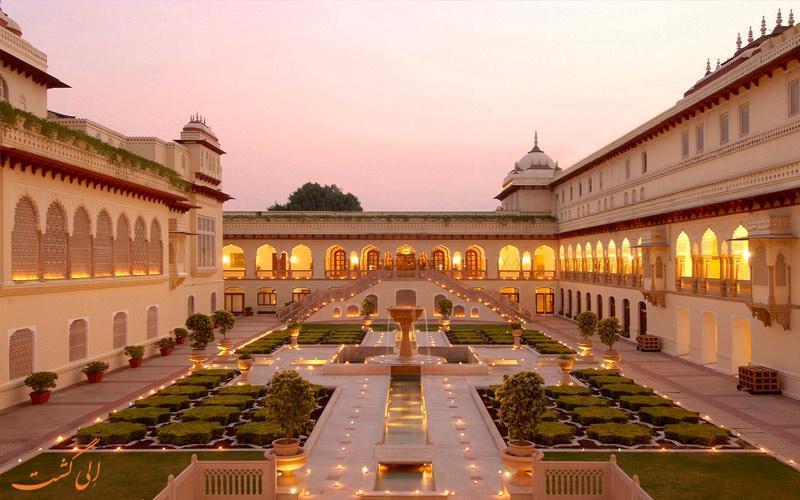 معرفی بهترین هتل های 4 ستاره جیپور در هند