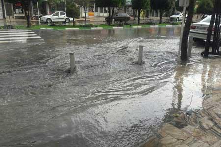 هشدار سازمان هواشناسی نسبت به تشدید فعالیت سامانه بارشی