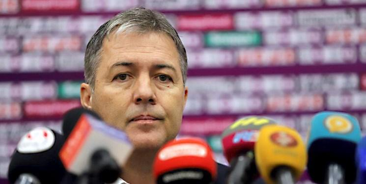 اسکوچیچ: سر قولم به مردم ایران برای صعود به جام جهانی هستم