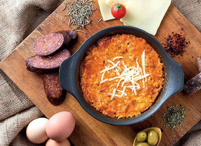 طرز تهیه املت پنیری ترکیه ای مِنِه مِن