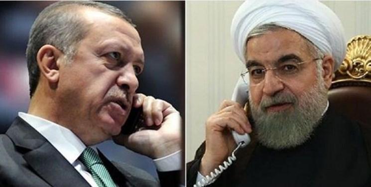 روحانی و اردوغان بر ضرورت بازگشایی سریع تر مرز های ایران و ترکیه تأکید کردند