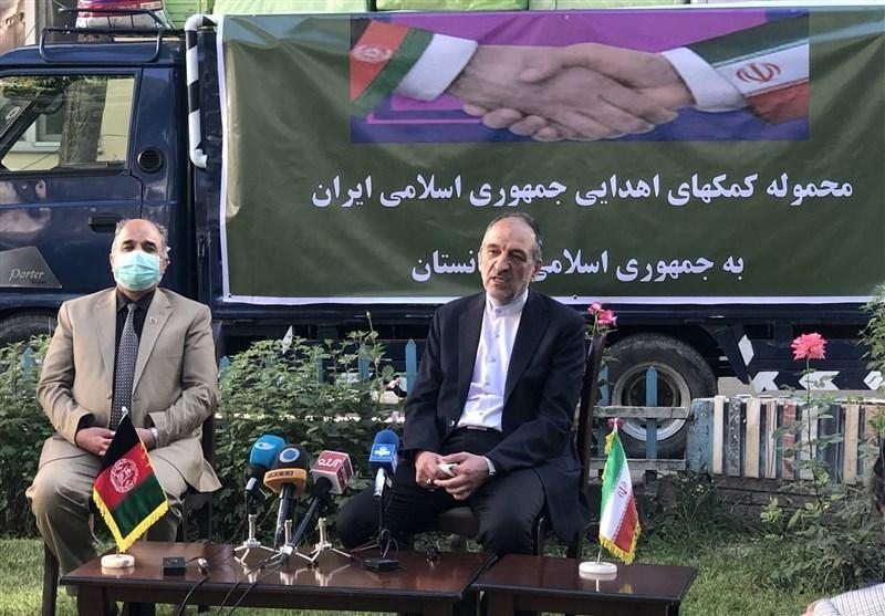 اهدای 11 تن تجهیزات پزشکی ایران به افغانستان