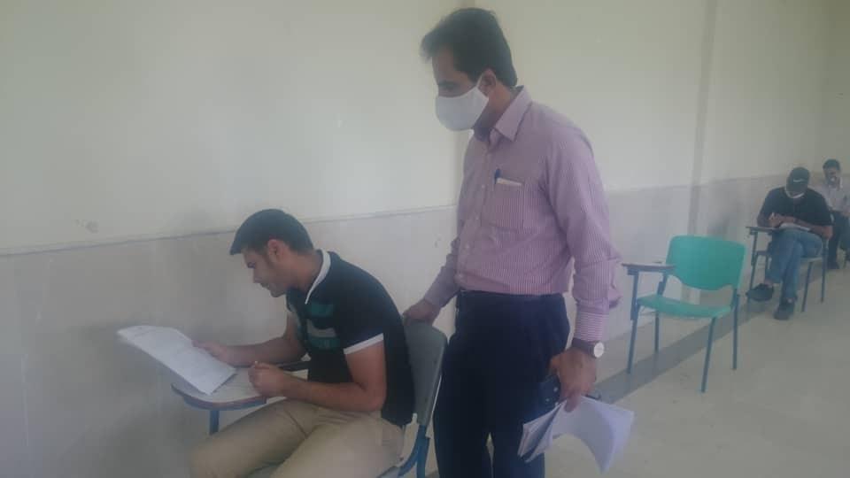 برگزاری آزمون نهایی دوره های مهارتی در دانشگاه آزاد اسلامی دامغان