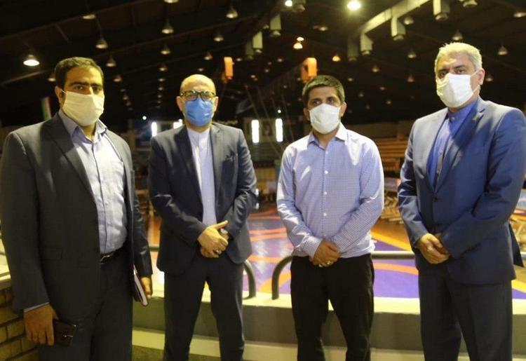 (عکس) استقلال به لیگ برتر کشتی می آید