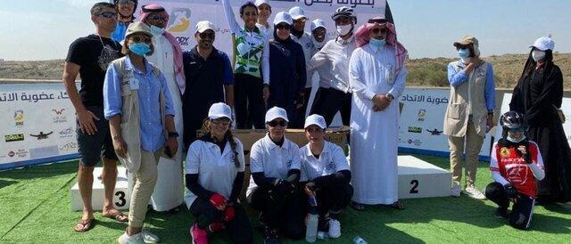 مسابقات قهرمانی دوچرخه سواری زنان برای اولین بار در عربستان