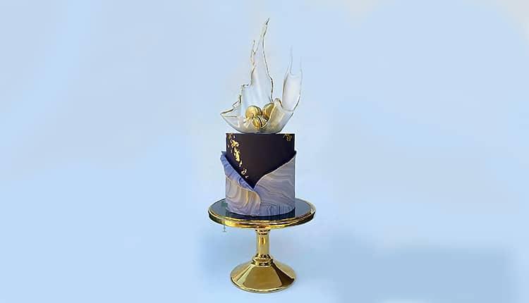 به روزترین مجموعه عکس کیک تولد خامه ای و فوندانتی دخترانه و پسرانه