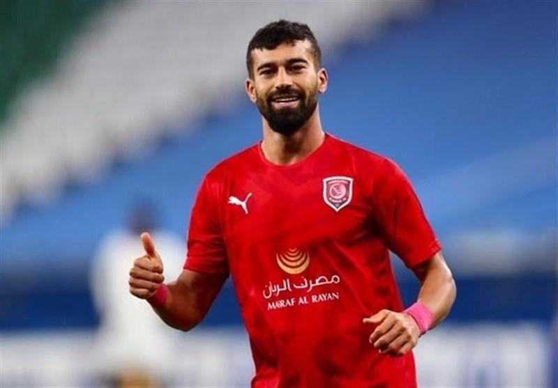 لیگ قهرمانان آسیا، رضاییان بهترین بازیکن دیدار الدحیل - الشارجه شد