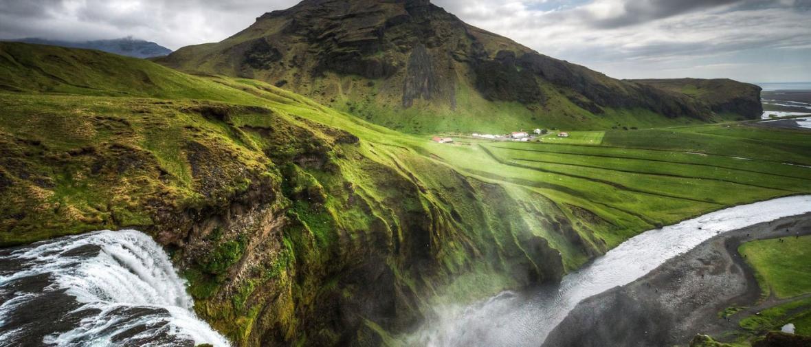 10 آبشار رویایی ایسلند