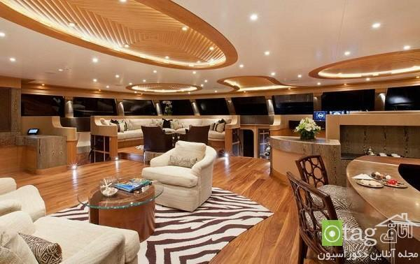 آشنایی با طراحی داخلی لوکس ترین کشتی های تفریحی جهان