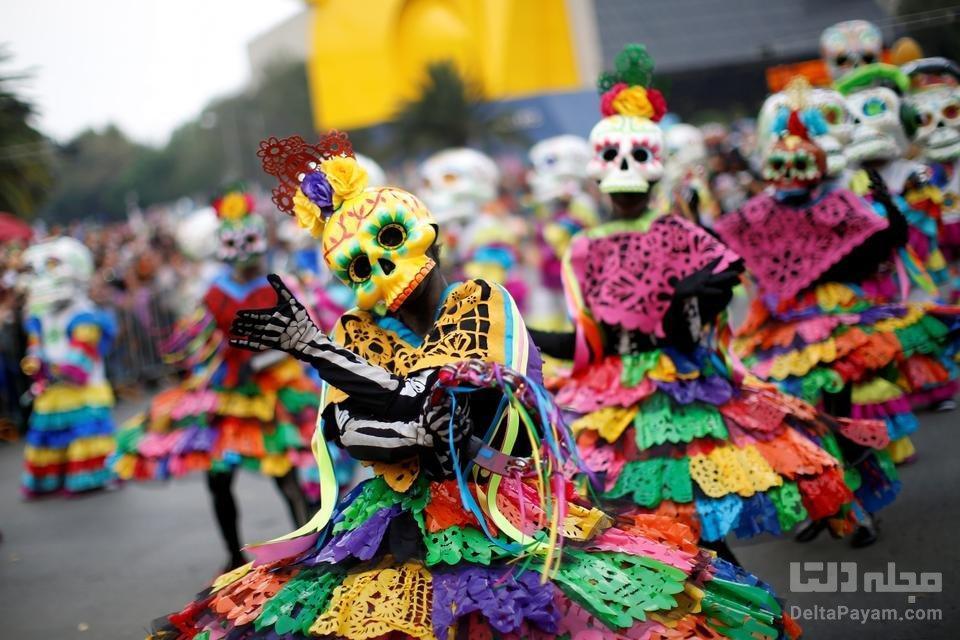 فستیوال های مکزیک، رنگی و عجیب