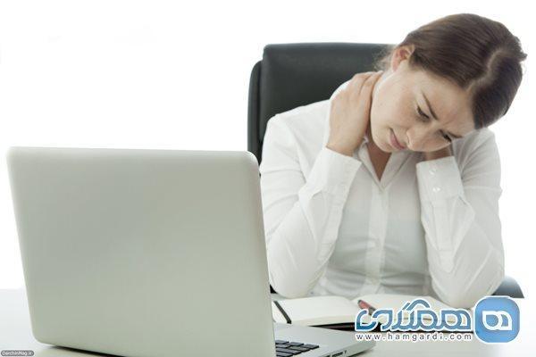 6 تمرین تسکین آرتروز گردن بیماری شایع پشت میزنشینی