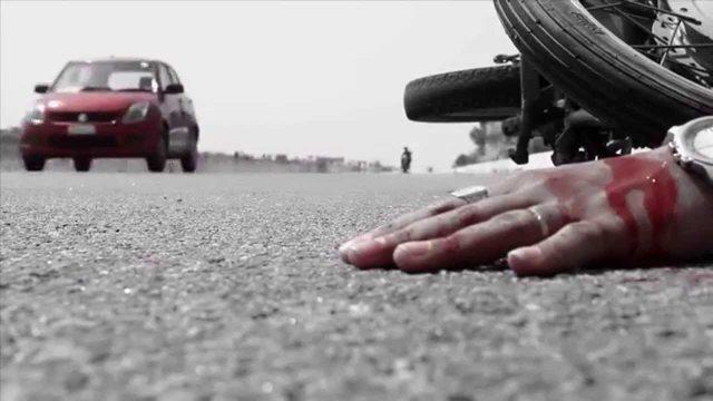 مرگ هولناک راکب موتور در همدان