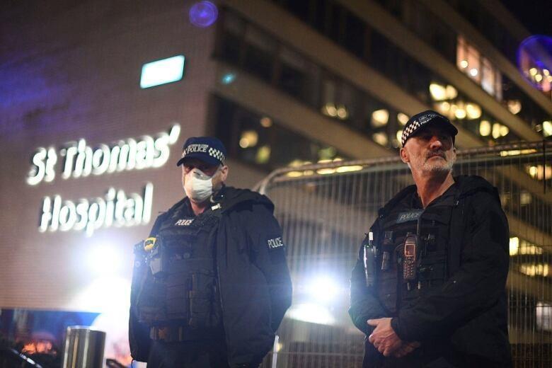اعلام هشدار امنیتی در بیمارستان سنت توماس لندن