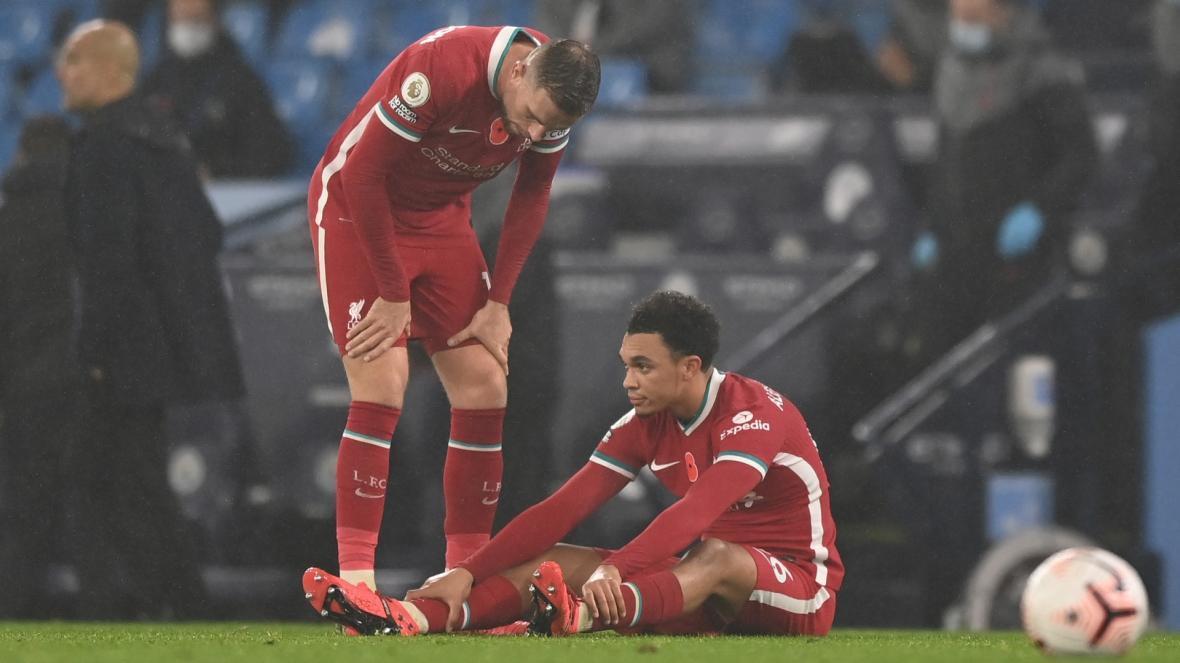 آرنولد بازی تیم ملی انگلیس مقابل ایرلند و بلژیک را از دست داد
