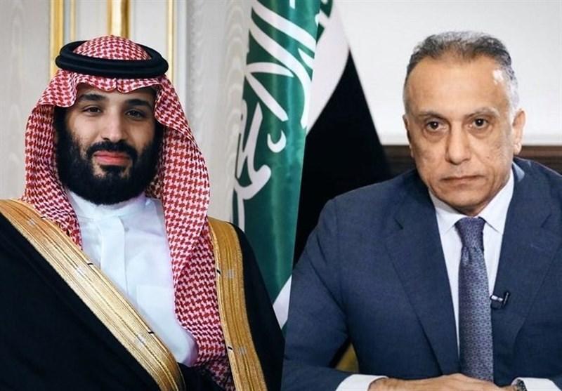 نشست وبیناری الکاظمی و بن سلمان