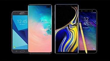 قیمت انواع گوشی موبایل سامسونگ در بازار