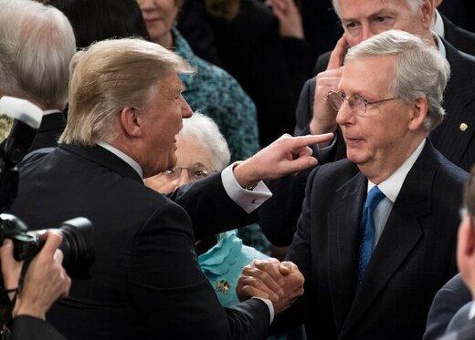 میچ مک کانل به ترامپ هشدار داد