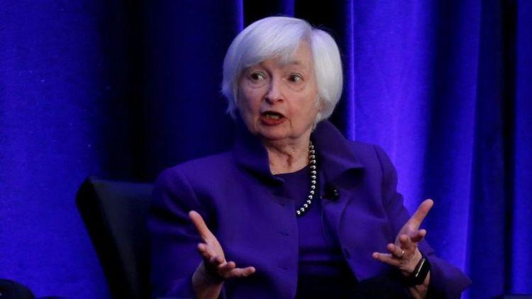 (تصویر) این زن وزیر دارایی آمریکا می گردد