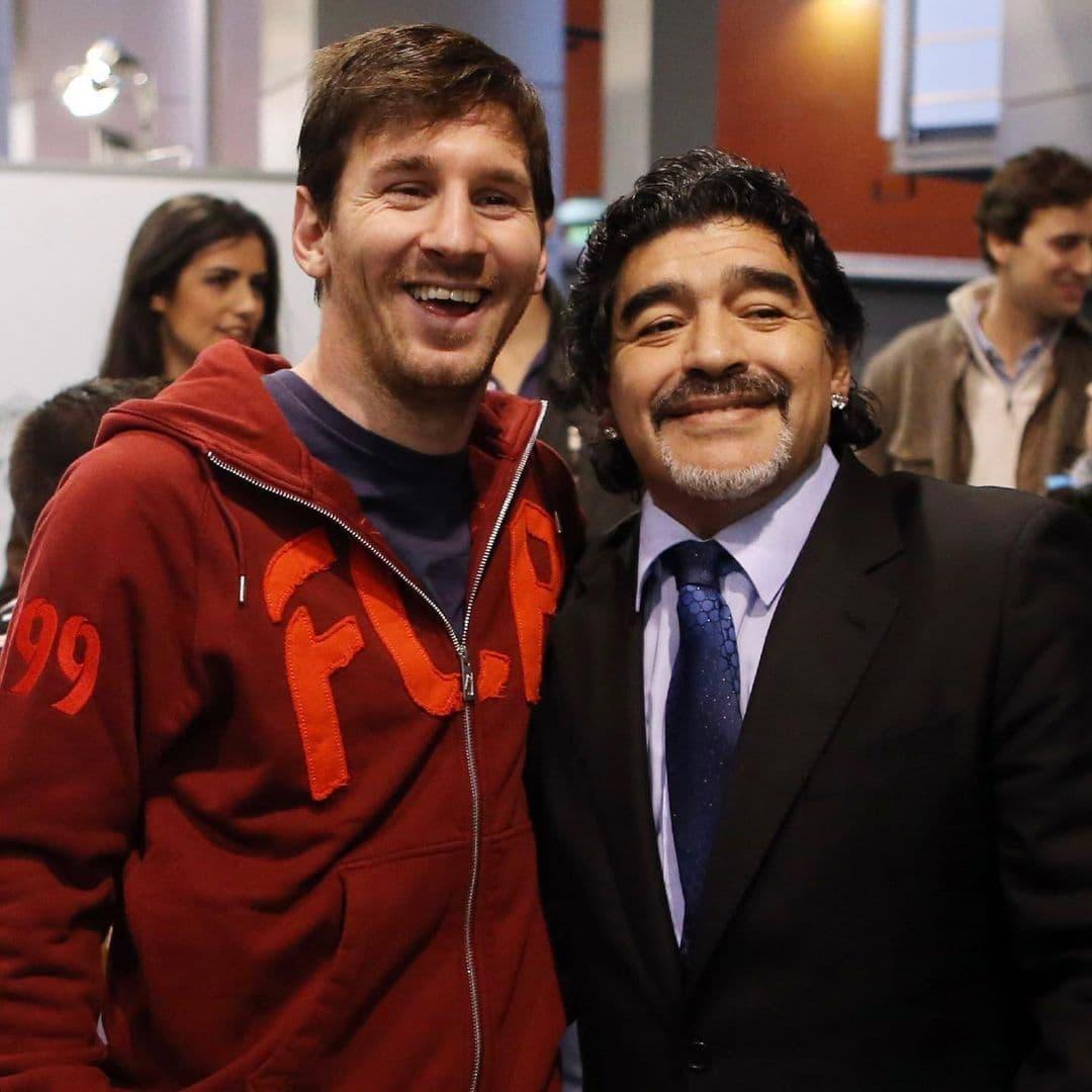 واکنش مسی به درگذشت دیگو مارادونا: یک روز خیلی ناراحت کننده برای تمام آرژانتینی ها و دنیای فوتبال