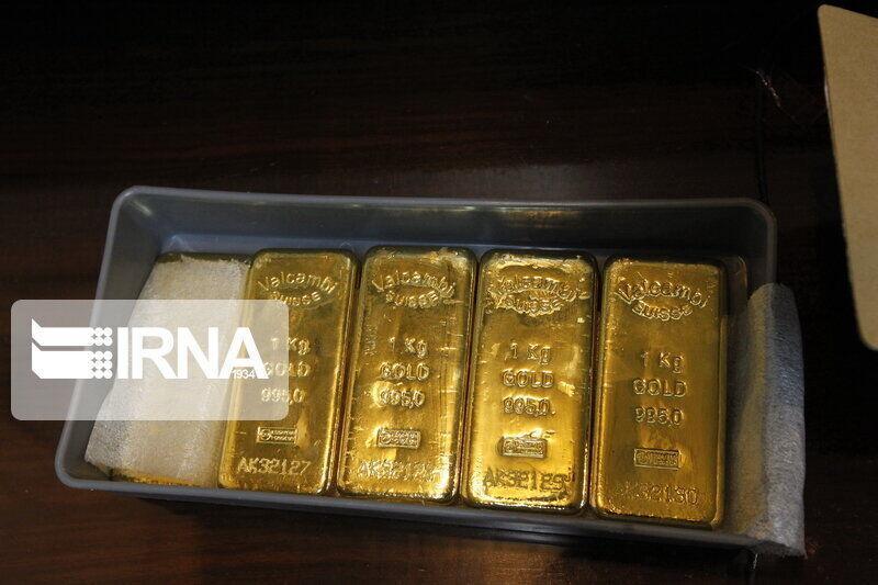 خبرنگاران دادگستری گلستان مانع خروج 30 کیلو شمش طلا از کشور شد