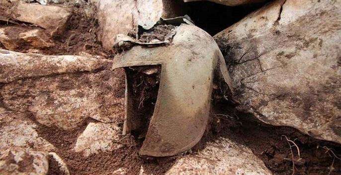 کلاه&zwnjخود نادر تاریخی در کرواسی کشف شد