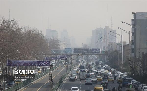 هوای تهران ناسالم برای گروه های حساس ناسالم