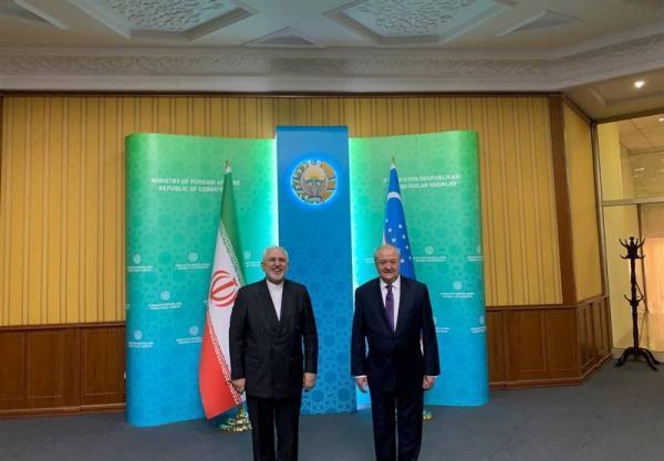 ظریف با همتای ازبکستانی خود ملاقات کرد