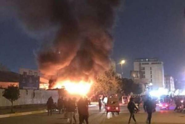 خبرنگاران انفجار قوی در بغداد