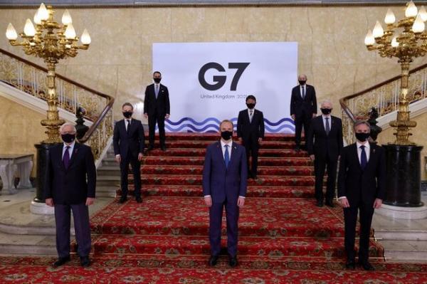 دعوت گروه 7 از چین برای همکاری در مسائل جهانی