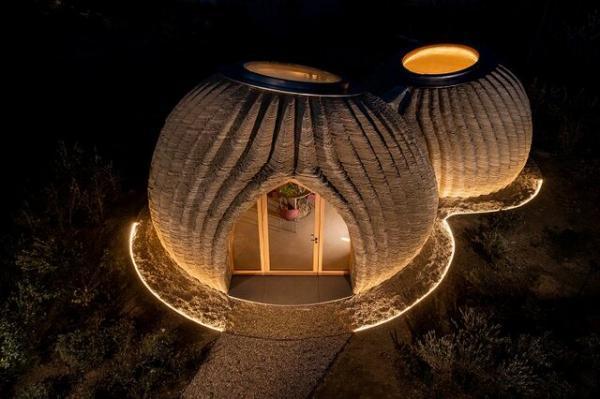 چاپ سه بعدی خانه های گِلی در ایتالیا