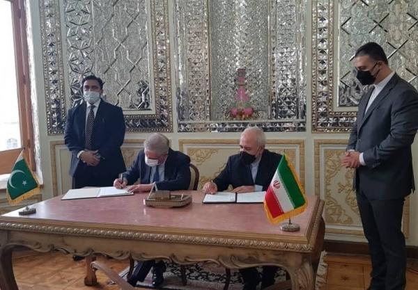 امضای یادداشت تفاهم میان ایران و پاکستان برای ایجاد بازارچه های مرزی